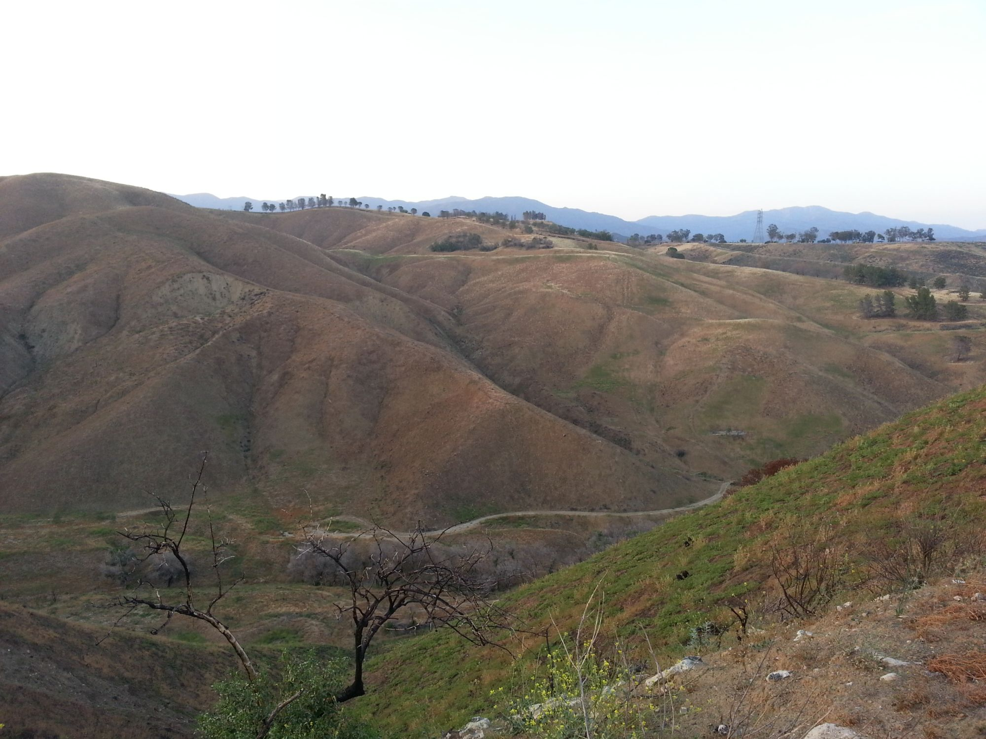 Geocaching Tour along Ridge Route Road in Southern California