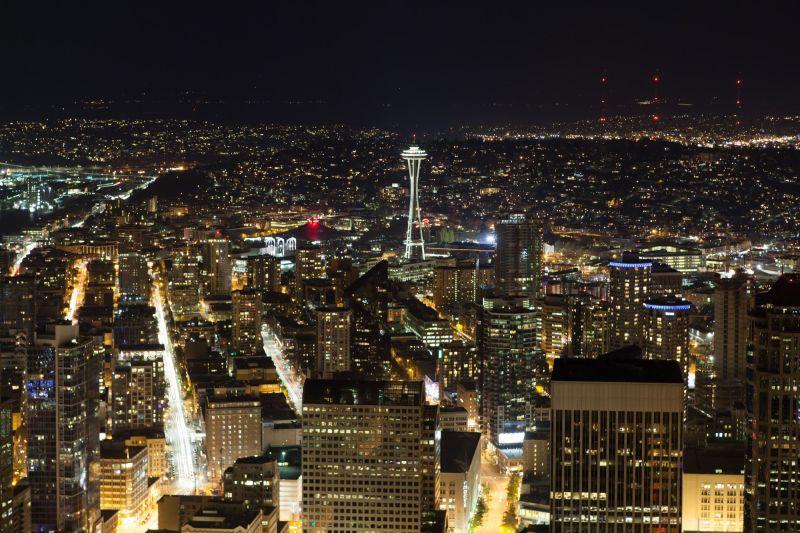 Seattle by Night-5