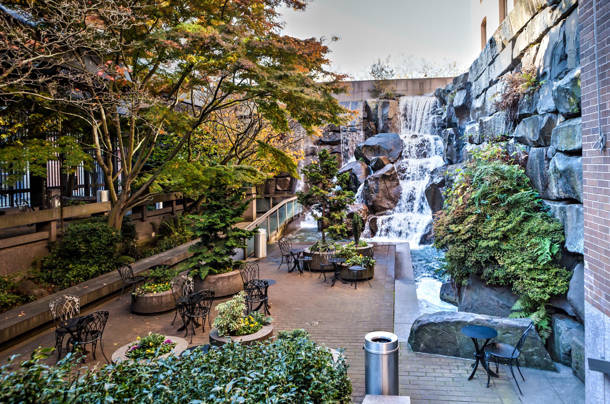 Waterfall Garden – A hidden Gem in Seattle
