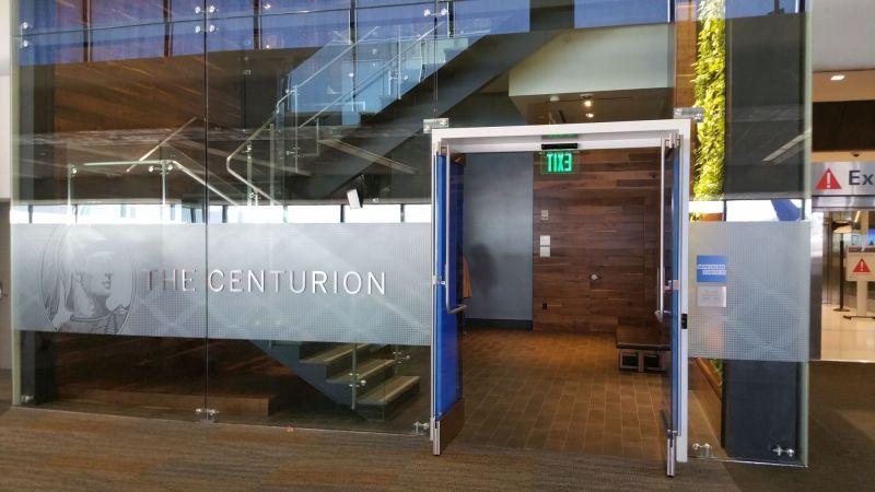 Centurion Lounge SFO 01