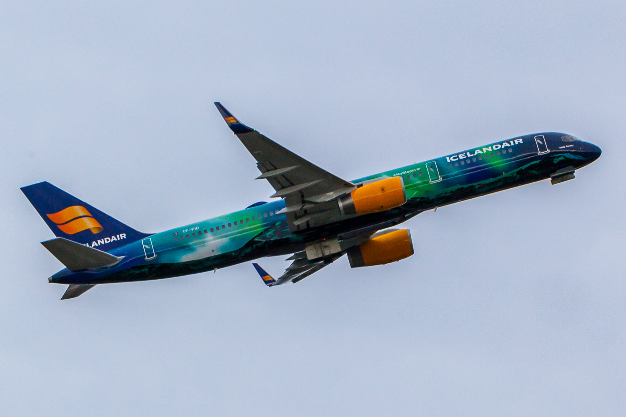 Icelandair – Hekla Aurora in Seattle
