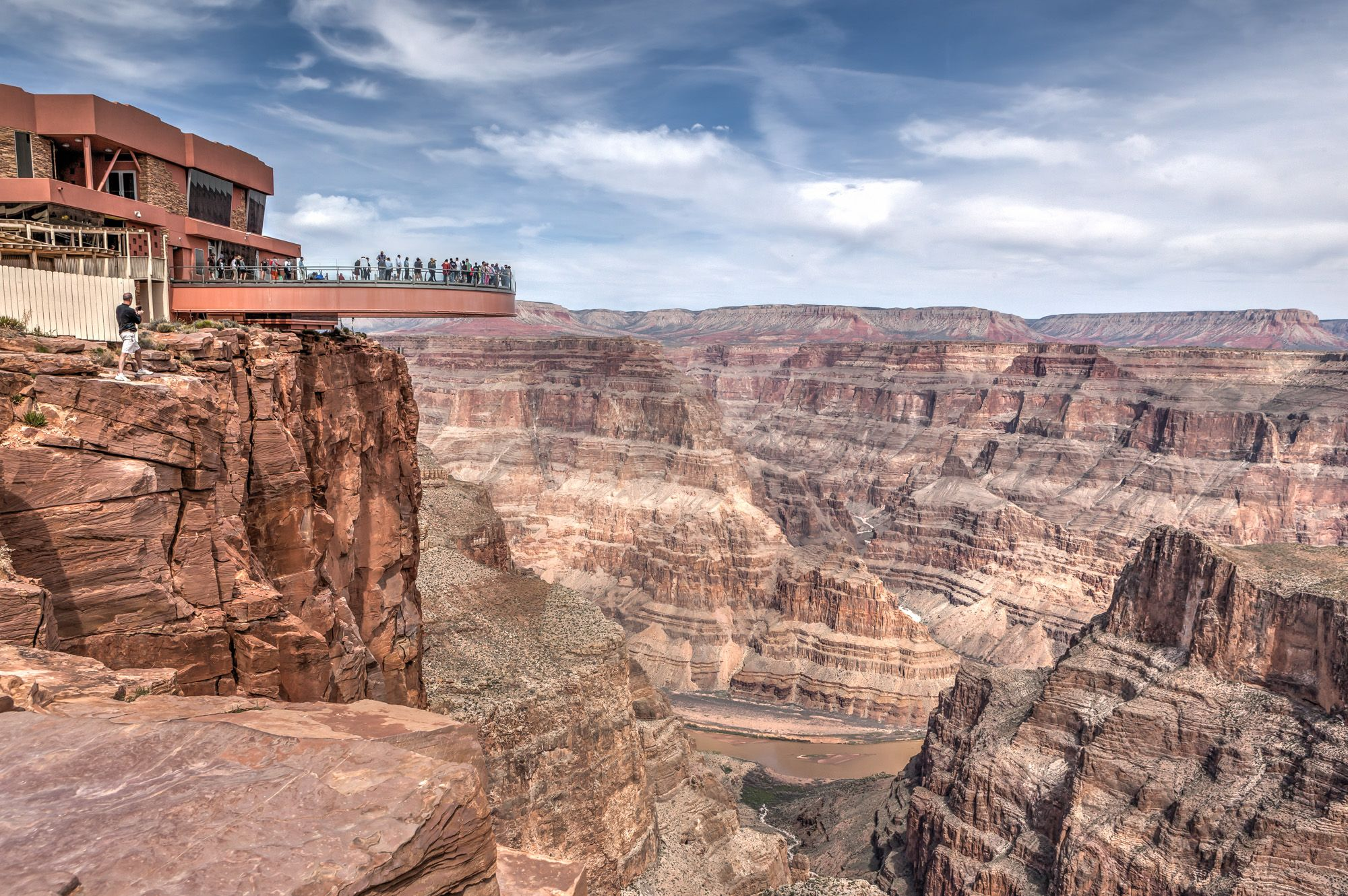 Grand Canyon West and the famous Skywalk
