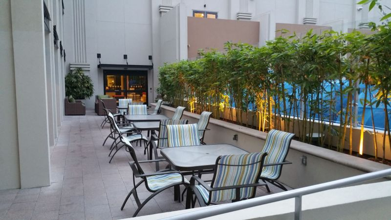 Outdoor Seating near Pool