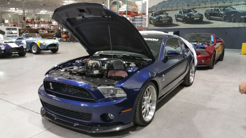 Shelby 1000 engine