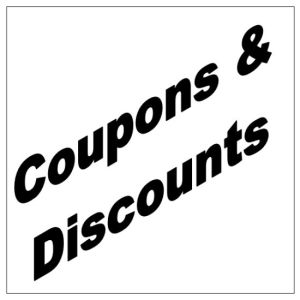 Discounts, Coupons and Free Stuff