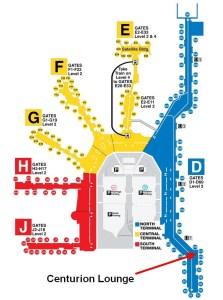 Terminal Map (c) Miami Airport