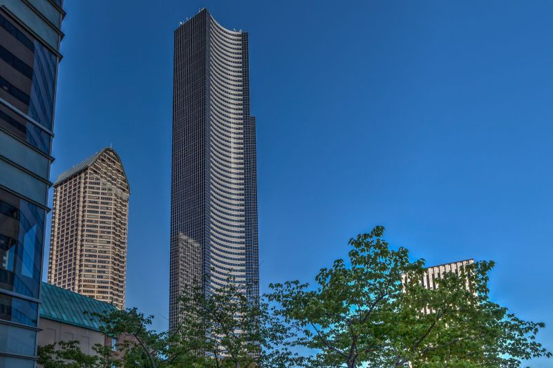 The Columbia Center - highest building in Seattle.