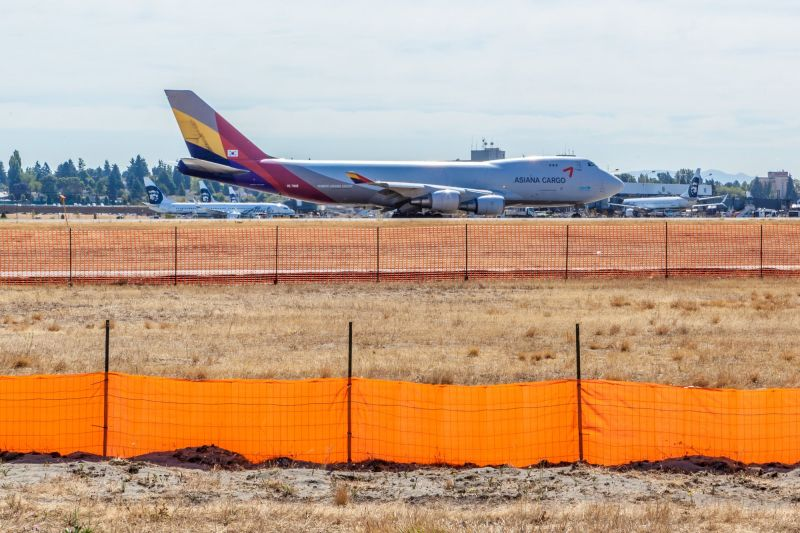 Asiana Boeing 747-400F - Asiana Cargo