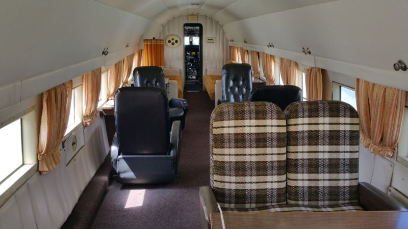 Douglas DC-3 executive interior