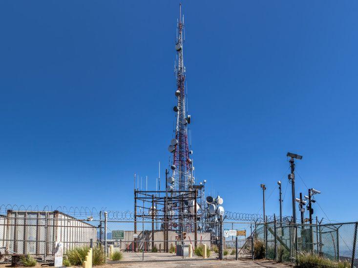 Radio Tower on top of Mount Lee
