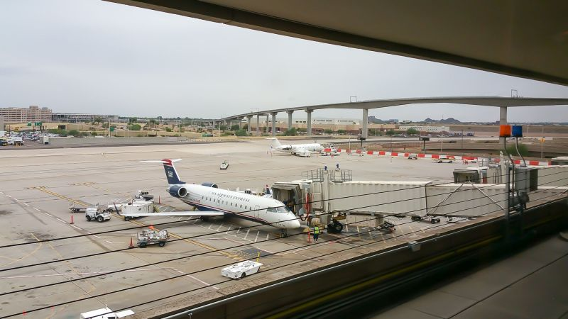 View of the Tarmac