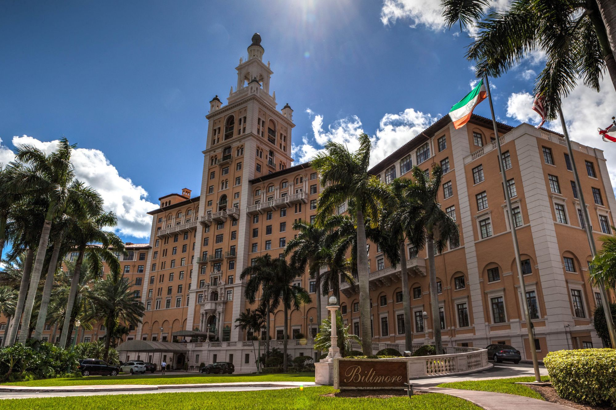 Visit the Biltmore Hotel in Coral Gables and take a free tour.