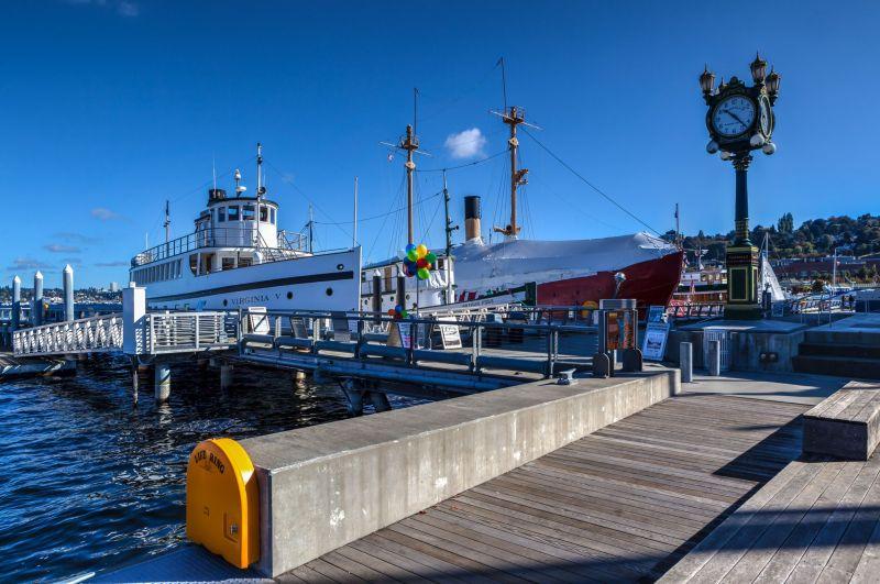 Historic Ships at Lake Union