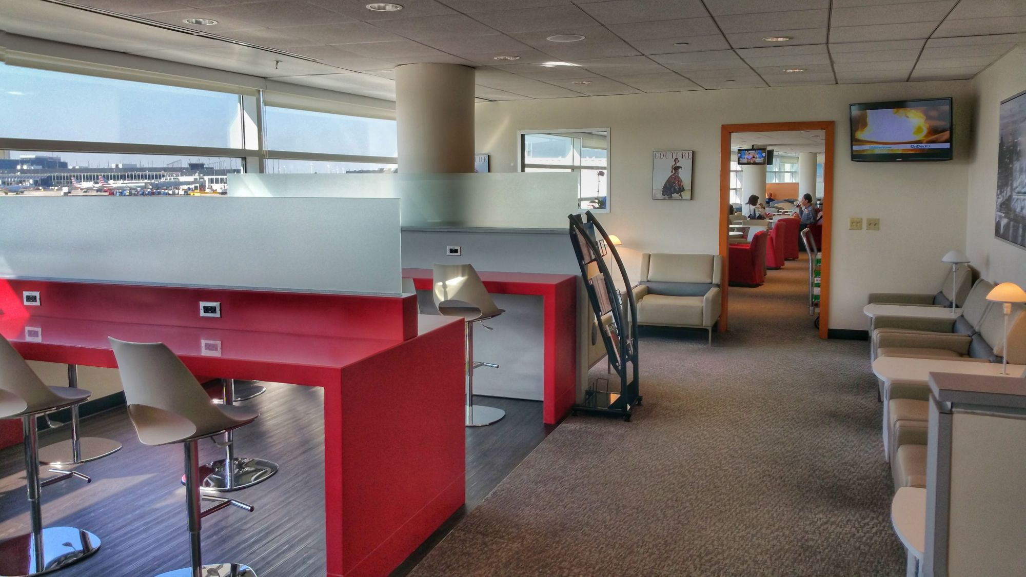 Lounge Review: Air France – KLM Lounge at Chicago O'Hare Terminal 5