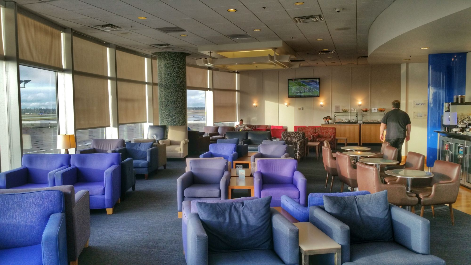 Lounge Review: British Airways Terraces Lounge Seattle
