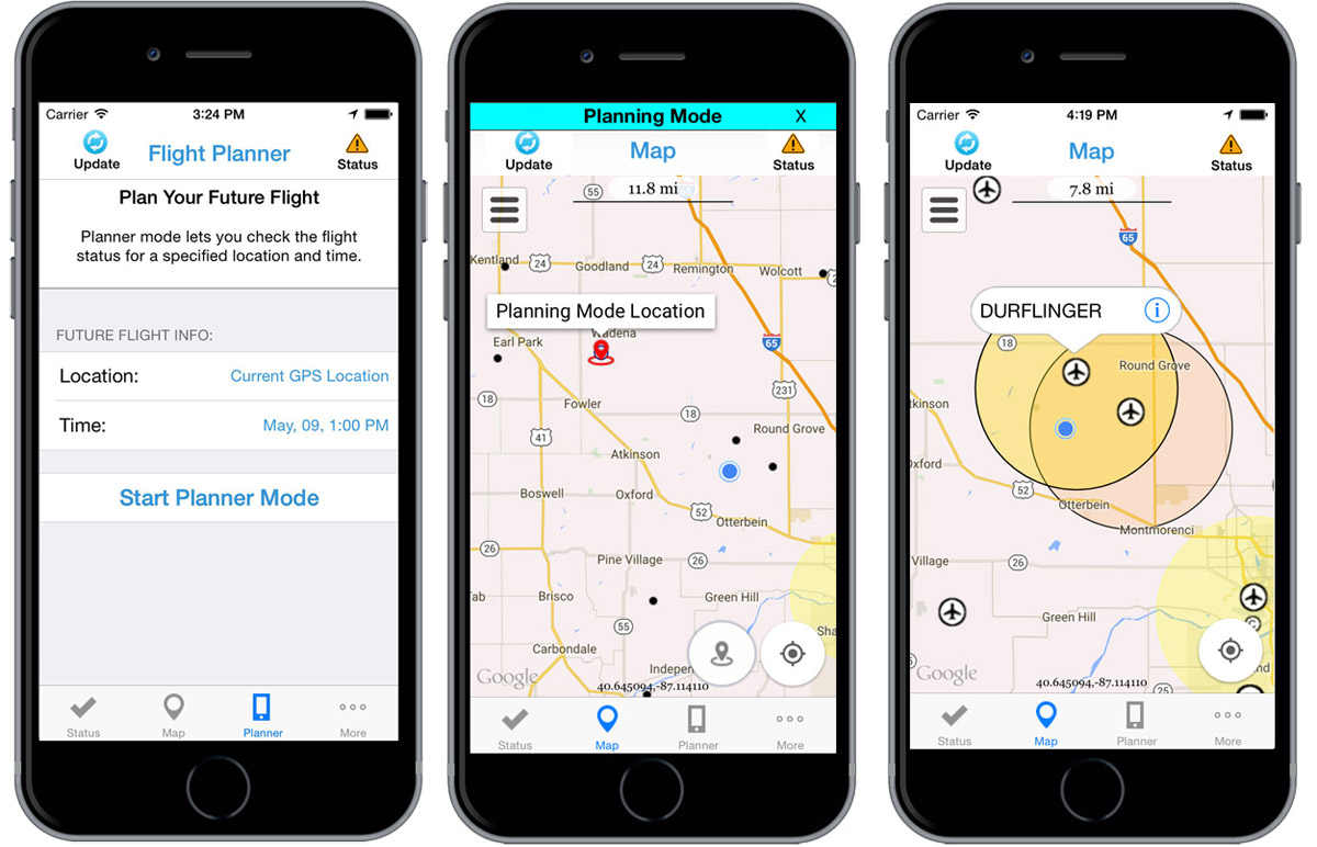 FAA's B4UFLY app helps drone operators to be safe in the sky