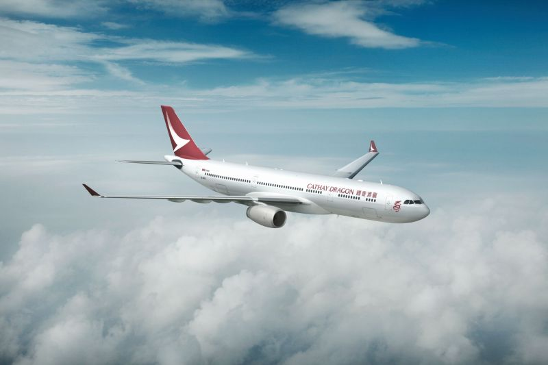 Cathay Dragon New Livery (c) Cathay Dragon