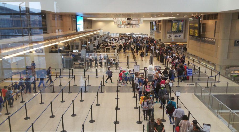 LAX Tom Bradley International Terminal Security Checkpoint