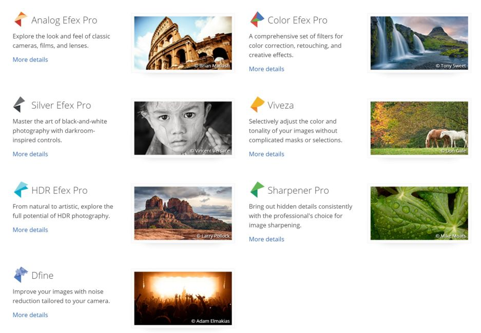 Nik Collection (c) Google