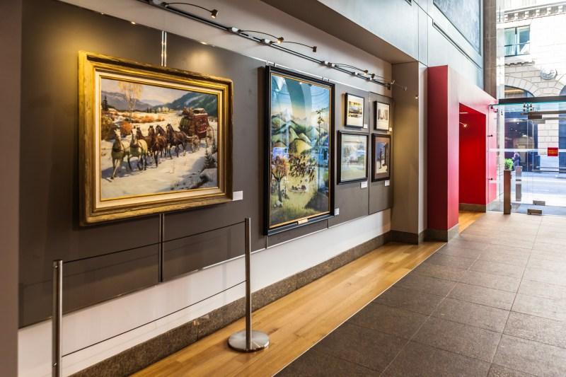 Wells Fargo History Museum - Paintings