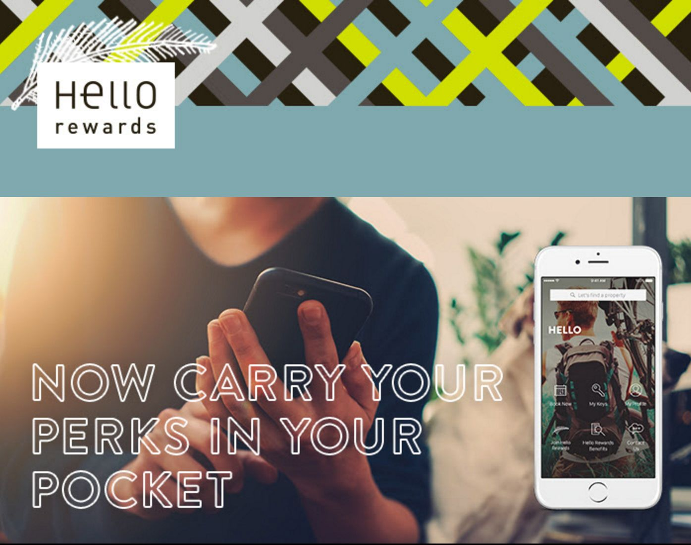 Hello Rewards App Now Available