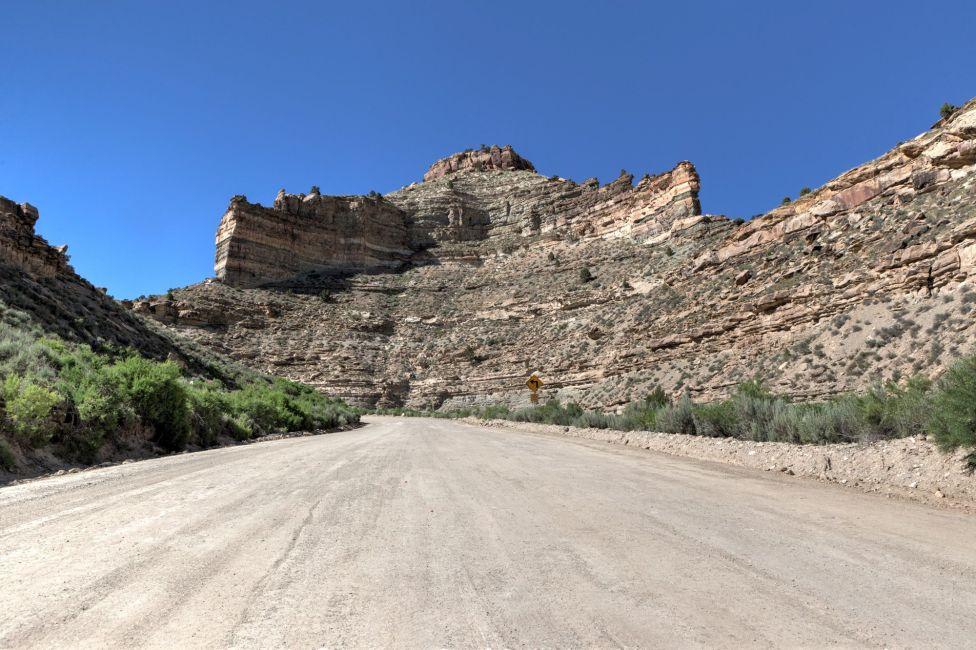 Nine Mile Canyon Dirt Road