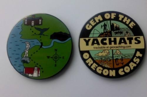 Yachats Geocoin (c) YahotsWalker