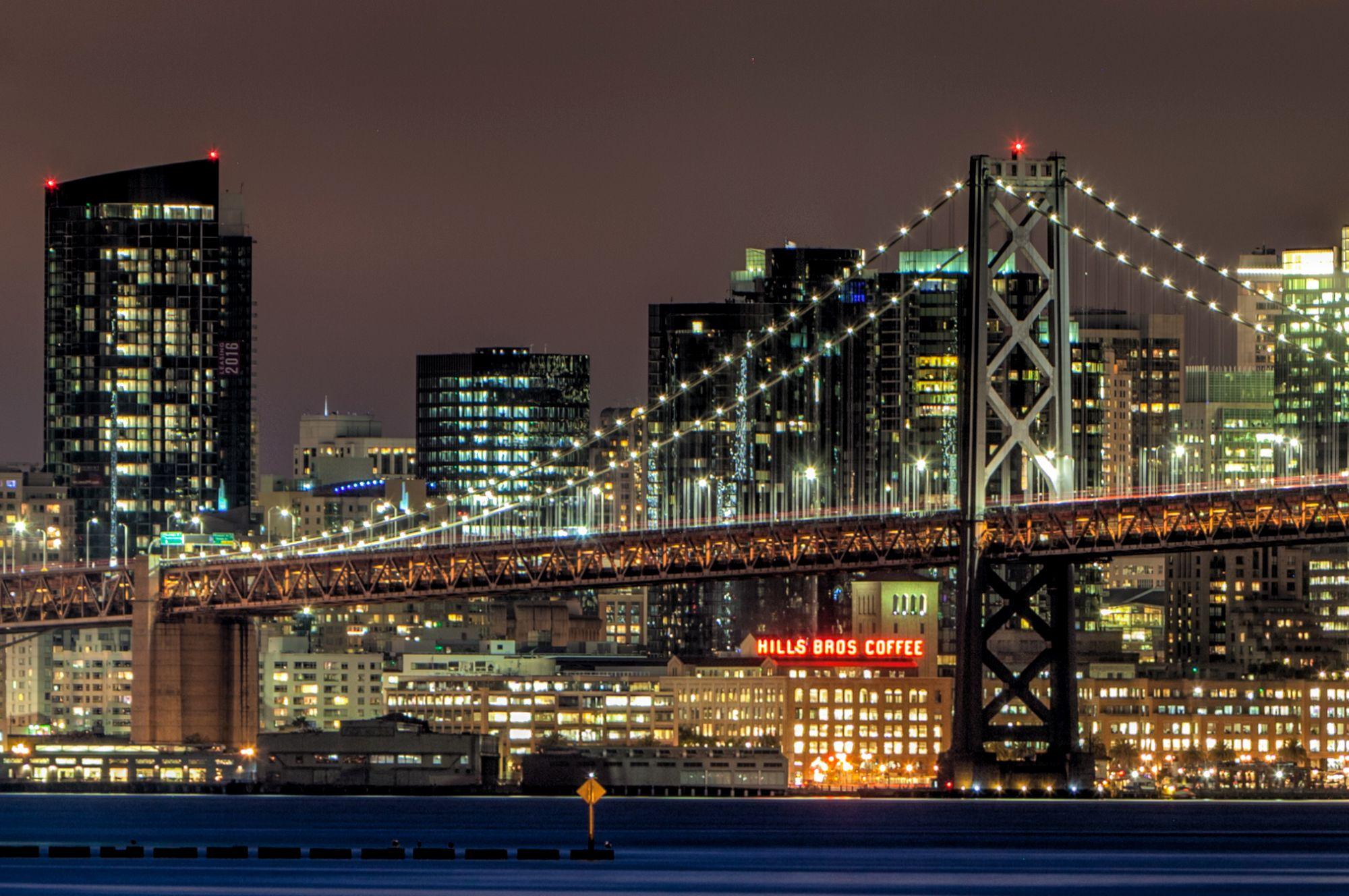 Photo of the Week: San Francisco Bay Bridge by Night