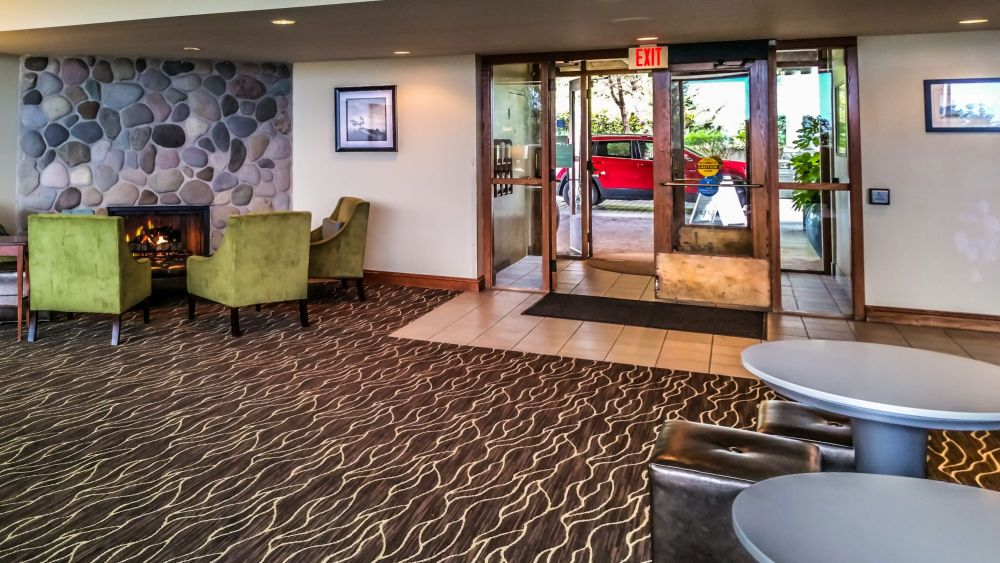 Lobby and Main Entrance