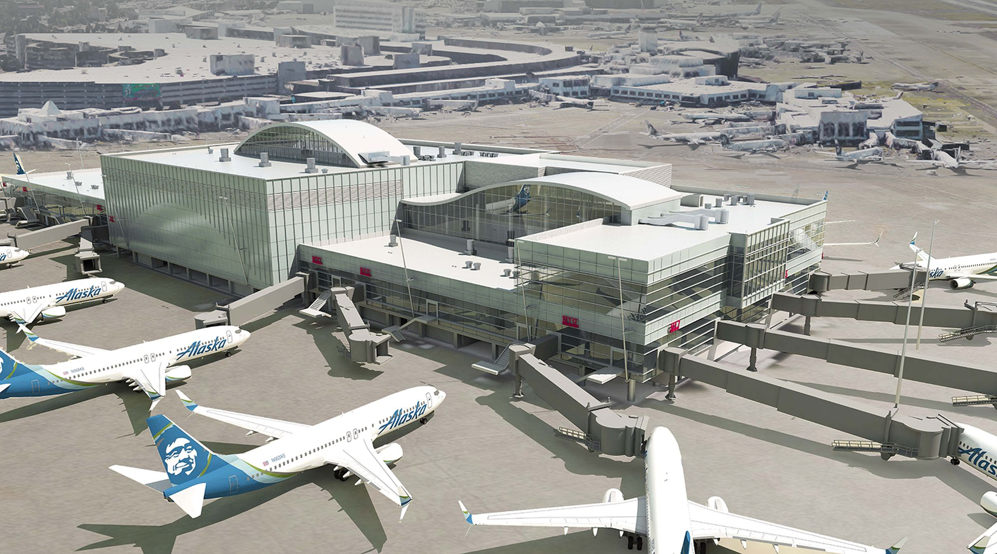 Sea-Tac Airport Remodels It's North Satellite