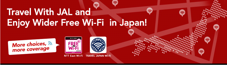 Fly JAL: Get Free WiFi Access for Two of Japans Largest Providers