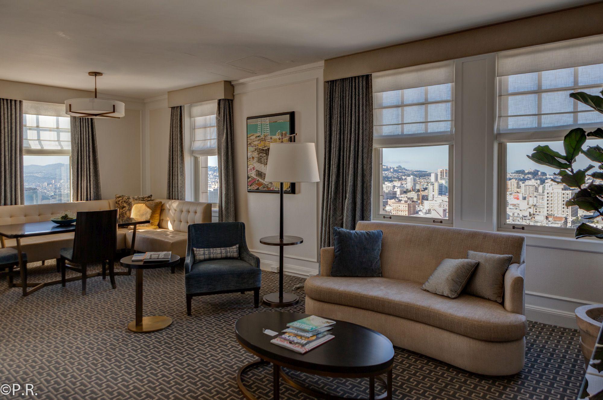 Hotel Review: Intercontinental Mark Hopkins San Francisco