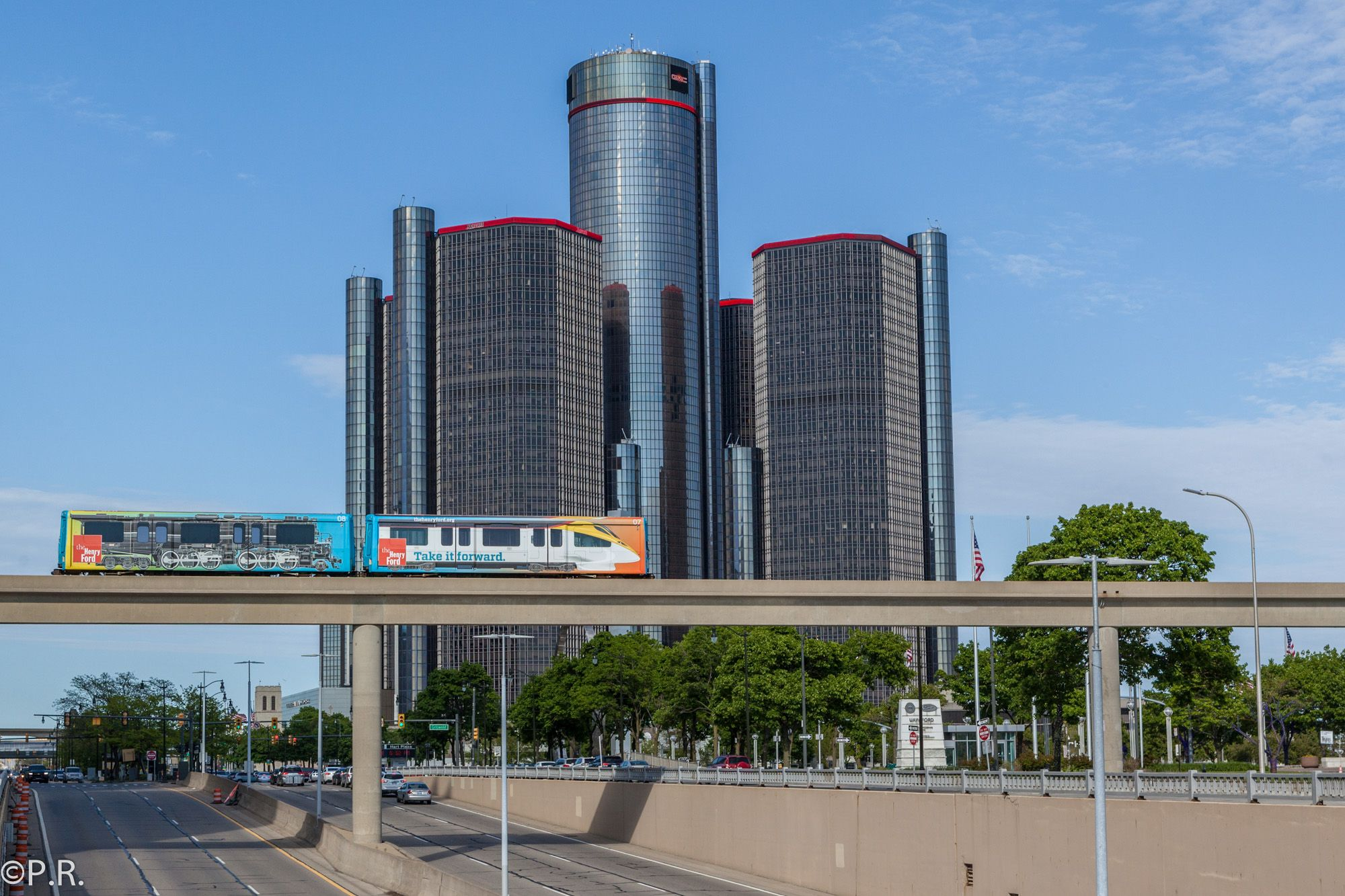 Explore the Motor City by Train with the Detroit People Mover