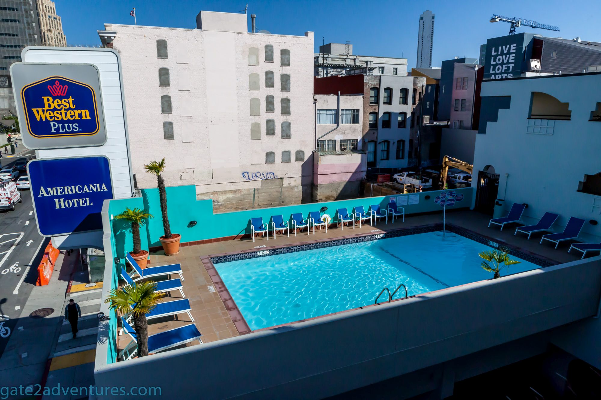 Hotel Review: Best Western Plus Americania in San Francisco