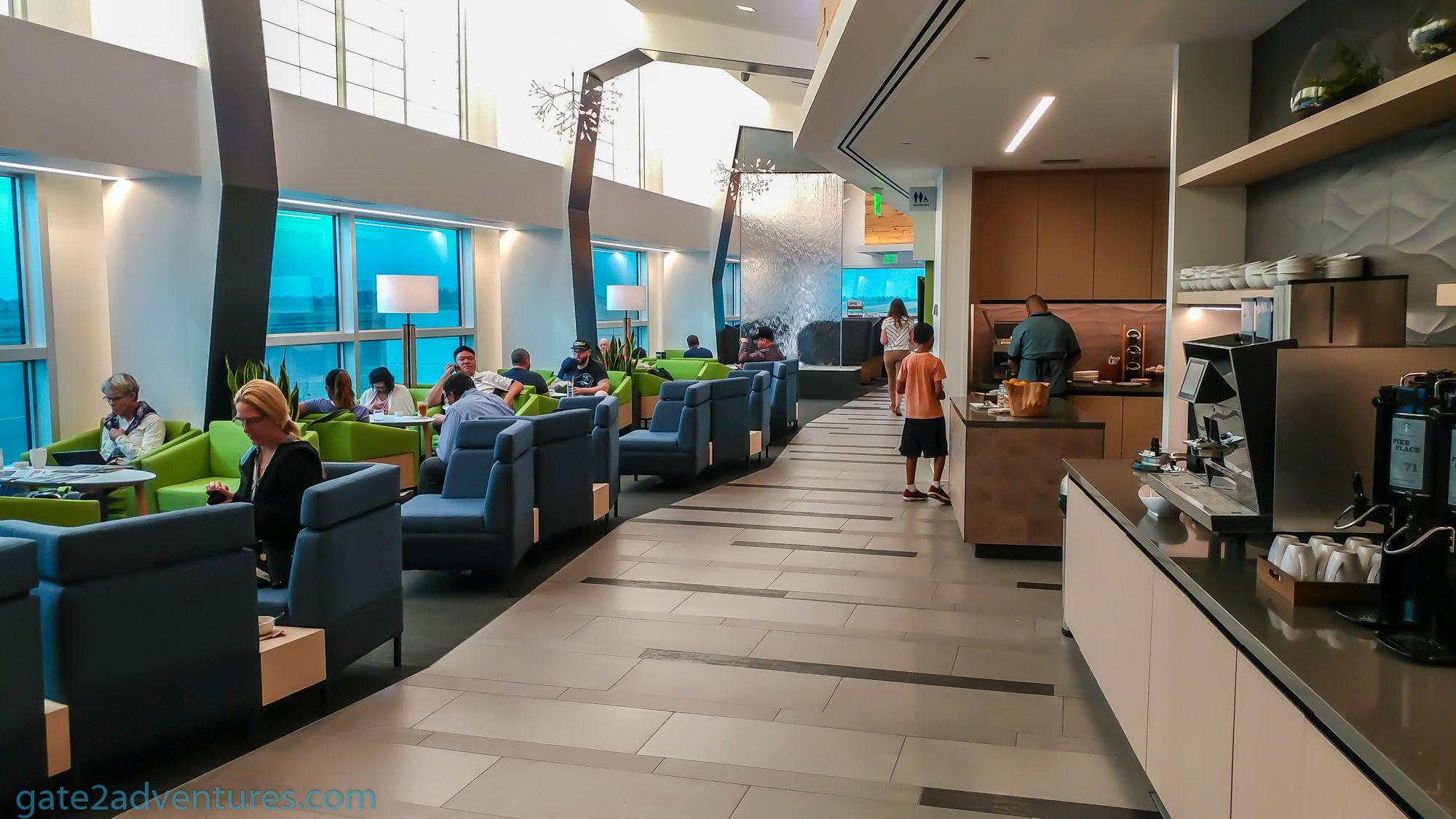 Lounge Review: Alaska Airlines Lounge C-Gates Seattle-Tacoma (SEA ...