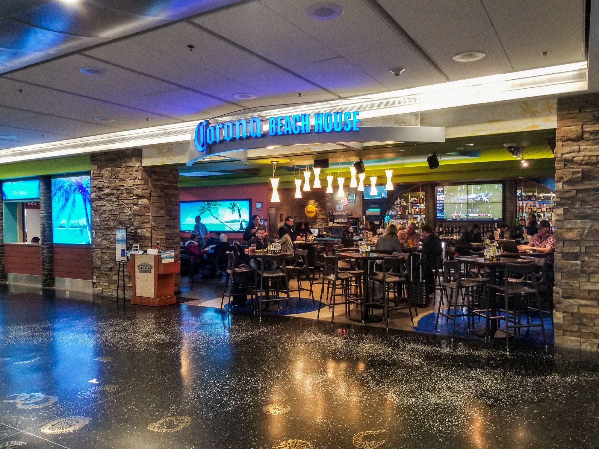 Lounge Review: Corona Beach House at Miami International Airport (MIA)
