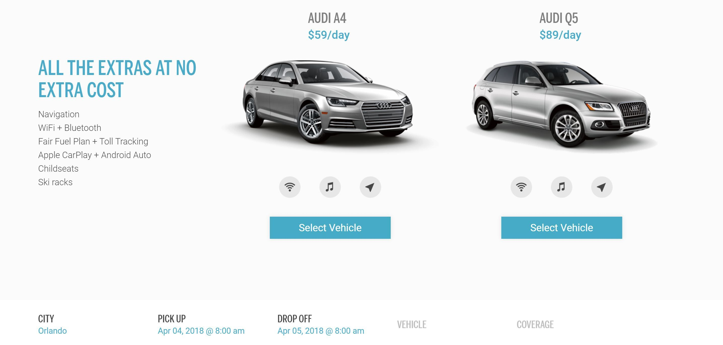 Silvercar Is Now Renting Audi Q5s in Nine Markets
