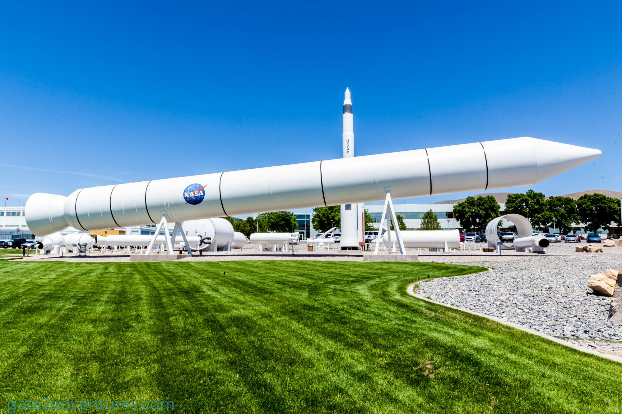 Orbital ATK Rocket Display
