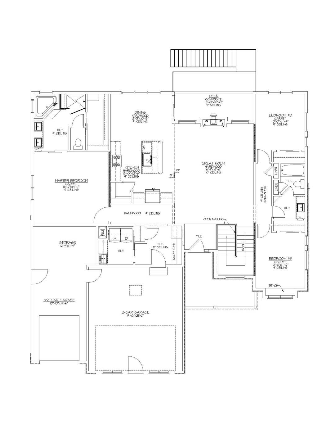 1718 Bighorn II 3966 Farthing Road Fplan-Model