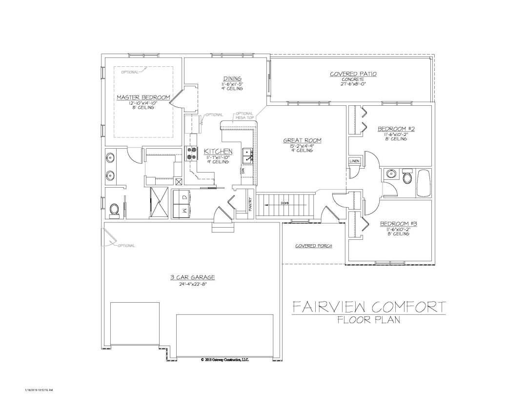 Fairview GL Fplan - C