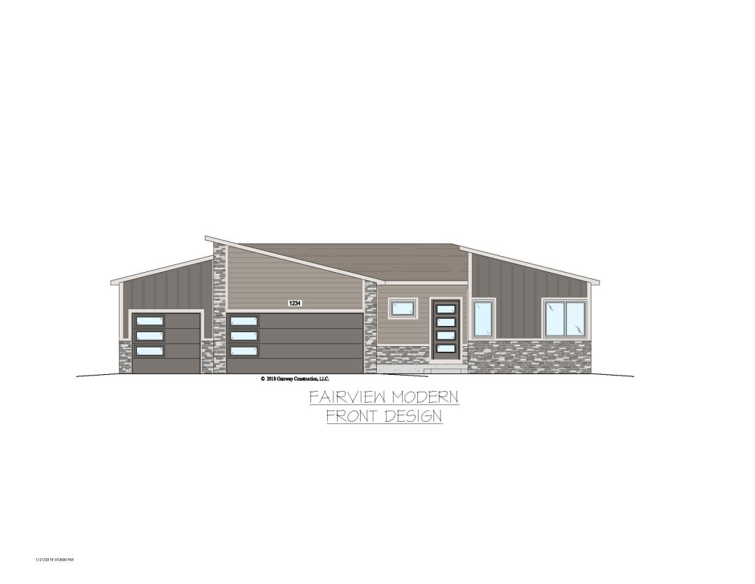 Fairview GL Exterior Designs - M No Tree Colored