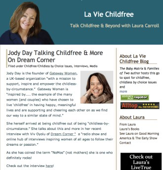 Dream Corner on La Vie Childfree