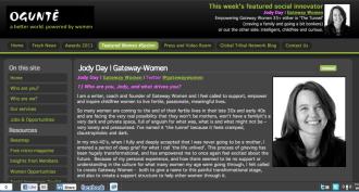 Jody Day of Gateway Women interviewed on Ogunte.com - April 26 2011