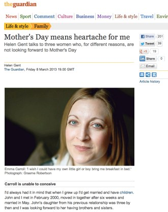 The Guardian, Mother's Day 2013 (crop)