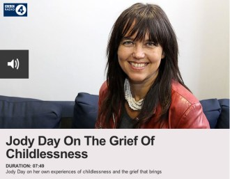 Woman's Hour - Jody Day on the grief of childlessness