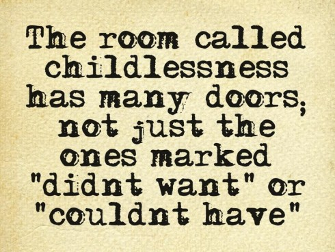 Chapter 1 quote - room called childlessness