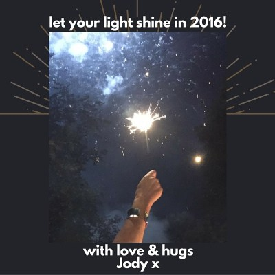 jody's NY 2016 sparkle message