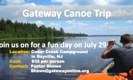 Saturday, July 29th we are going canoeing!!!