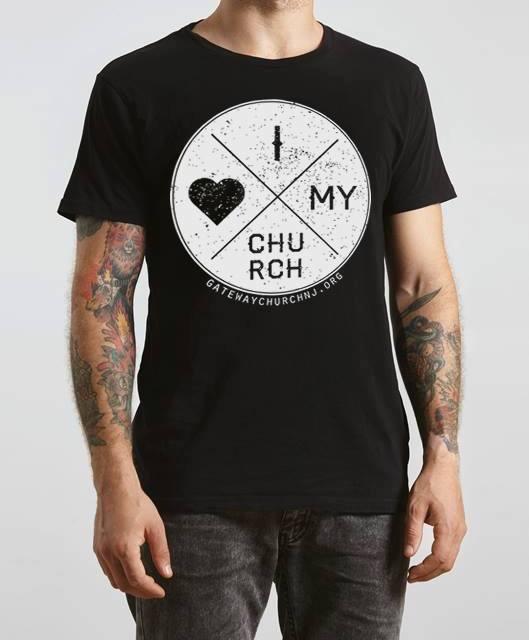 """I Love My Church"" T-shirts & Hoodies!"
