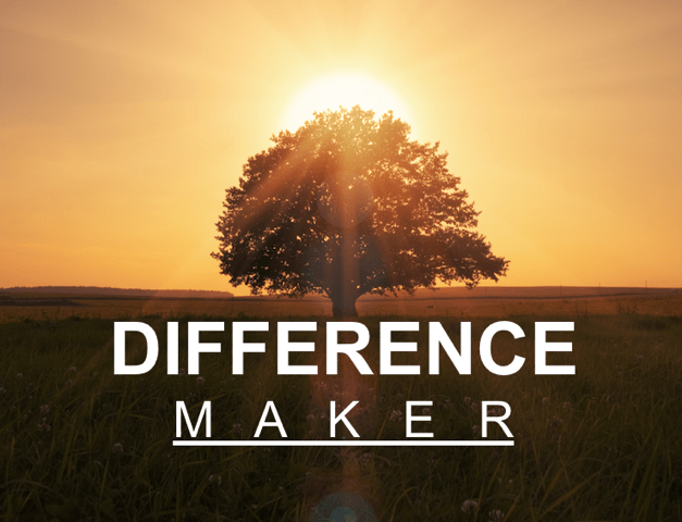 Difference Maker – New Sermon Series